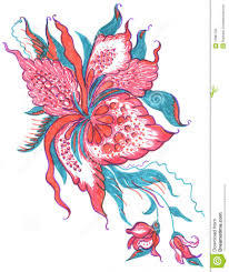 flowers pattern in pencil colour easy zentangle patterns color