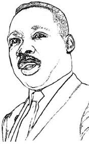 printable martin luther king coloring page free pdf download at