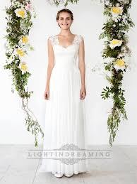 sheath wedding dress cap sleeves sheath wedding dress with cut out back lidress