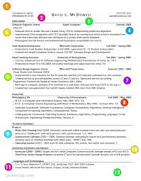 excellent resume exles this is what a resume should look like careercup