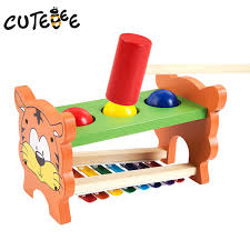cutebee wooden toy musical instrument montessori educational toys