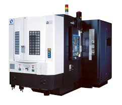 makino a51 horizontal machining center on display at westec