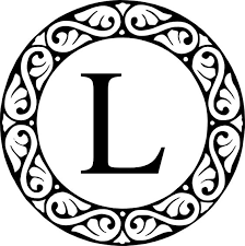 Monogram Letter B Monogram Letters