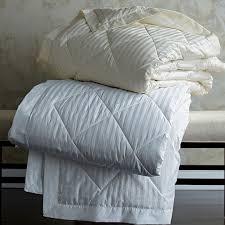 legends damask stripe blanket down u0026 primaloft the company store