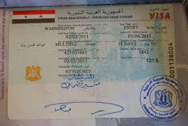 Washington travel visa images Visa syria overland travel adventures from go see write jpg