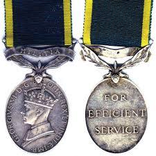 efficiency medal wikipedia