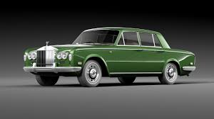 roll royce green rolls royce silver shadow 1965 by korneelov 3docean