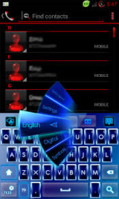 keyboard themes for android free download go keyboard blue neon theme free apk android app android freeware