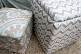 fabric storage ottomans foter