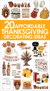 20 affordable thanksgiving decorating ideas fall decor
