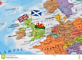 Scotland Flags United Kingdom Map Flags Of England Scotland Wales Brexit