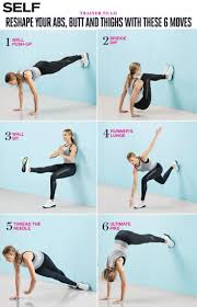 6 moves that u0027ll work your abs and thighs in the best way