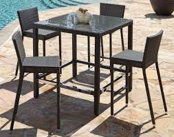 High Patio Table Patio U0026 Pergola Patio Table And Chairs Set Famous Patio Table