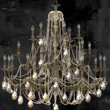 Painting Of Chandelier Chandelier Painting 28 Images Painted Chandelier Canvas