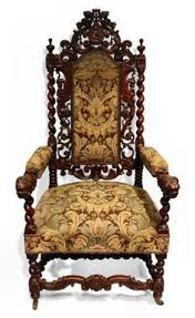 Kissing Chairs Antiques Exceptional Victorian Carved Arm Chair Art Furniture Ii