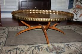 moroccan round coffee table over 44 inch extra large round moroccan brass tray coffee table wood