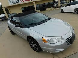 2004 Chrysler Sebring Convertible Interior Chrysler Sebring Convertible In Texas For Sale Used Cars On