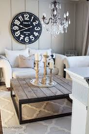 Living Room And Dining Room Ideas by Best 25 Wall Clock Decor Ideas On Pinterest Large Clock Large