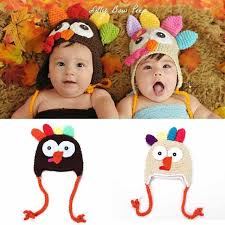 baby crochet turkey hat thanksgiving hat newborn animal photo prop