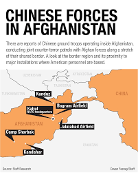 Bagram Air Base Map Chinese Troops Appear To Be Operating In Afghanistan And The