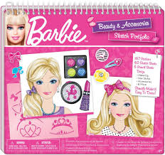 barbie hair and makeup sketch portfolio amazon co uk toys u0026 games