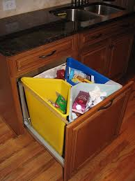 Kitchen Recycling Bins For Cabinets Recycle Bin Houzz