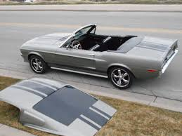 mustang fastback roof 67 68 shelby mustang convertible roadster eleanor colors removable