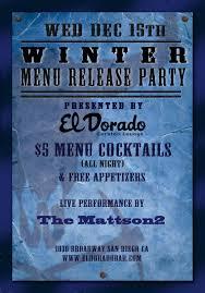 el dorado cocktail lounge el dorado winter menu release party 12