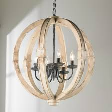 Ballard Designs Orb Chandelier Bushel Basket Light Fixture 4 No One After Lighting 16 Brilliant