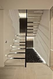 furniture modern staircase design floating steps without rail