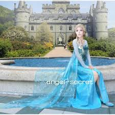 frozen dress for halloween 3800 elsa costume dress made kid
