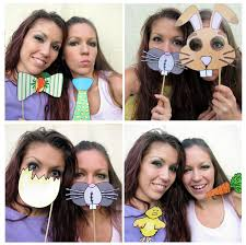 easter photo props our easter photo booth props are ready plus this is our 50th post