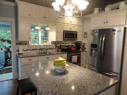 Antiqued White Kitchen Cabinets by Kitchen Cabinets Wonderful White Granite Kitchen Countertops