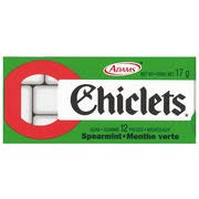 where to buy chiclets gum chiclets gum spearmint 12 pieces calories nutrition analysis