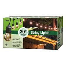feit electric 30 ft 10 socket incandescent string light set 72041