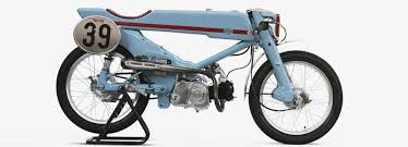 honda super cub firefly motorcycle by deus ex machina