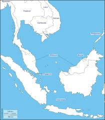 Map Of South East Asia Southeast Asia Free Map Free Blank Map Free Outline Map Free