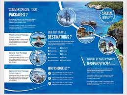 sample brochure for tour package travel brochure template 24 free