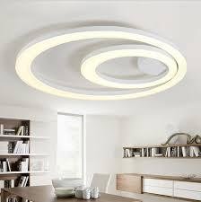 Cheap Light Fixtures White Acrylic Led Ceiling Light Fixture Flush Mount L