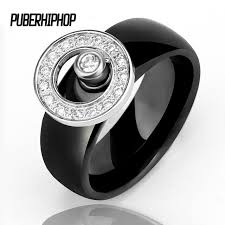 aliexpress buy mens rings black precious stones real new arrival 10 mm men rings big size with finger gyro