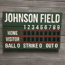 these scoreboards make awesome decorations for birthdays baseball