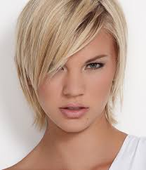 photo short haircut for thick hair oval face women hairstyles for