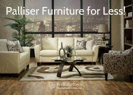 Living Room Furniture For Less Decorating Palliser Furniture Shields Leather Sofa In Beige For