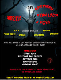 the halloween lock in tickets fri 27 oct 2017 at 22 00 eventbrite