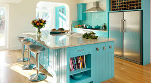 Vintage Kitchen Island Ideas Kitchen Turquoise Kitchen Decor And Cabinet 2 Door Built In