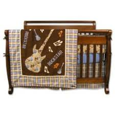 Rock N Roll Crib Bedding Rock N Roll Crib Bumper For My Friends With Babies Pinterest