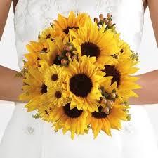 Sunflower Bouquets Sunflower Wedding Bouquet Bridal Bouquets