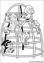 teen titans coloring pages coloring book
