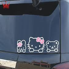 compare prices car kitty sticker shopping buy