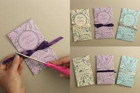 how to print wedding programs diy tutorial free printable folded wedding program wedding